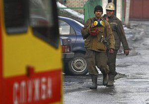 В Донецке горит шахта им. Калинина. Жертв нет