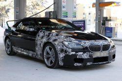 Шпионы заметили BMW M6 Convertible во время «трапезы»...