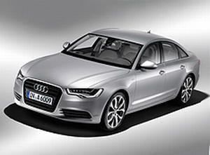 Гибридный седан Audi A6 доступен российским покупателям