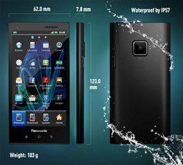 Panasonic Eluga: тонкий смартфон защищен от влаги и пыли