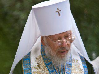 Митрополит Владимир отслужил первую после госпитализации литургию в честь Великого поста