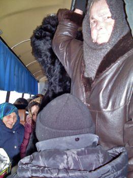 «Акционный» рейс, или Льготники едут в город