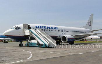Orenair начнет полеты Киев-Оренбург и Киев-Пермь