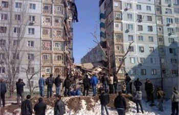 В России взрыв обрушил часть девятиэтажного дома