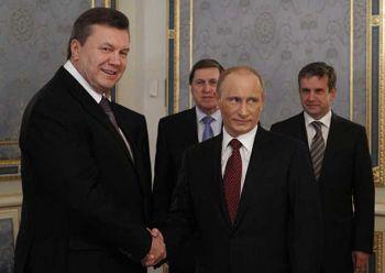 Украина не получит скидку на газ, даже если Янукович вынесет Путина из пылающей избы