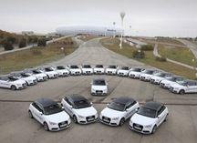 В 2014 году Audi A3, A4 и Q7 станут гибридами