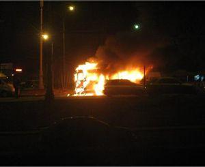 Стали известны обстоятельства пожара в маршрутке на одесском автовокзале