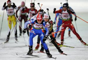Биатлонисты Черниговщины показывают высокие результаты на чемпионате Украины