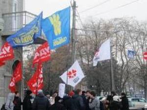 """""""Красную карточку"""" Януковичу показали в Чернигове"""