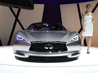 Компания Infiniti задумалась о выпуске электрического суперкара