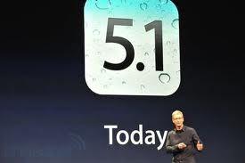 Apple выпустила мобильную операционную систему iOS 5.1