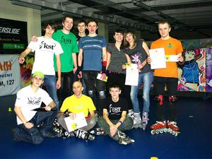 В Чернигове состоялся первый кубок города по роллер-спорту