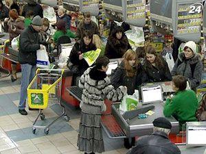 Базовий індекс споживчих цін в Україні за рік зріс на 6,1%