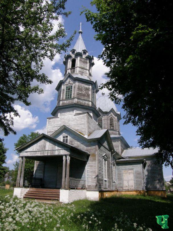 Маршрут «7 деревянных церквей Менщины»