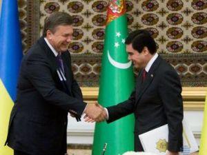 Янукович: Товарообіг між Україною та Туркменістаном збільшився втричі