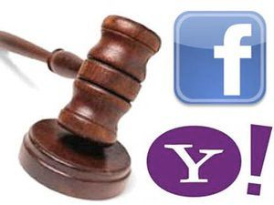 Yahoo подала позов на Facebook