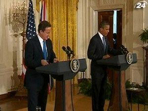 Обама і Кемерон спільно добиватимуться відставки Асада