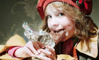 Дети становятся сладкоежками из-за соленой еды