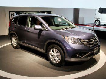 Новая Honda CR-V показалась широкой публике
