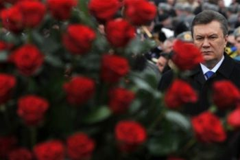 Янукович почтит память Шевченко в Черкасской области