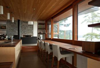 Архитекторы построили в Канаде дом, олицетворяющий противоположность городской жизни