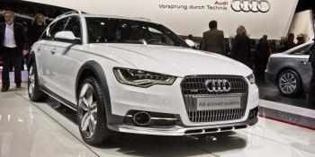 Audi A6 Allroad прибыл в Женеву